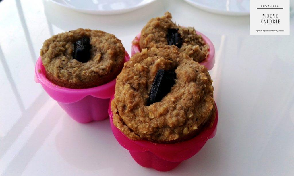 proteinowe babeczki muffiny