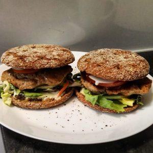 domowe fit burgery