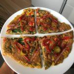 omlet z siemieniem lnianym