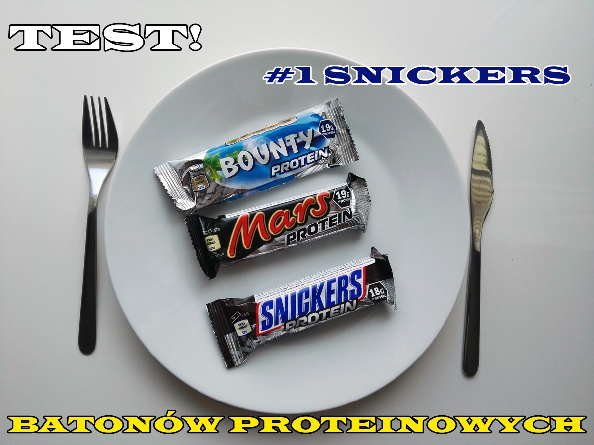 test batonów proteinowych