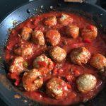 Dietetyczne pulpety w sosie pomidorowym na ostro