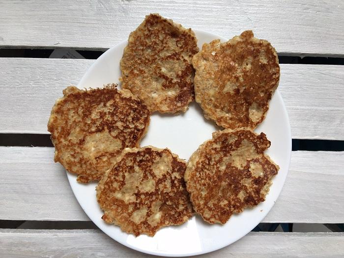 Dietetyczne placki owsiane
