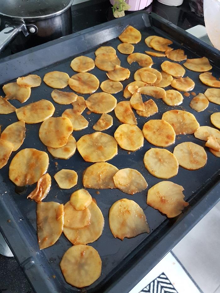 Dietetyczne chipsy