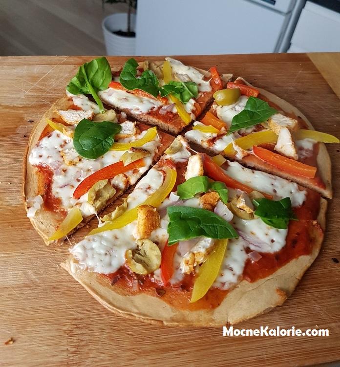 Pizza z patelni w wersji FIT