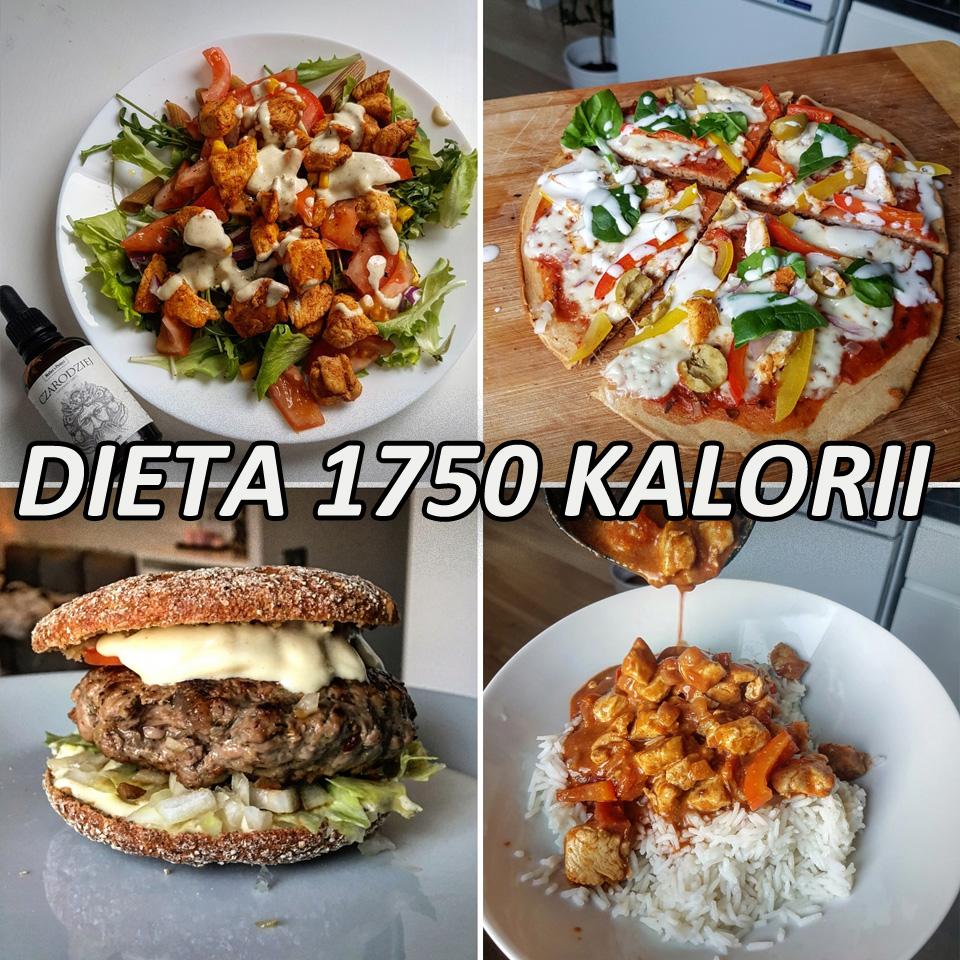 Dieta 1750 Kalorii 4 Posilkowy Jadlospis Na 7 Dni Mocne Kalorie