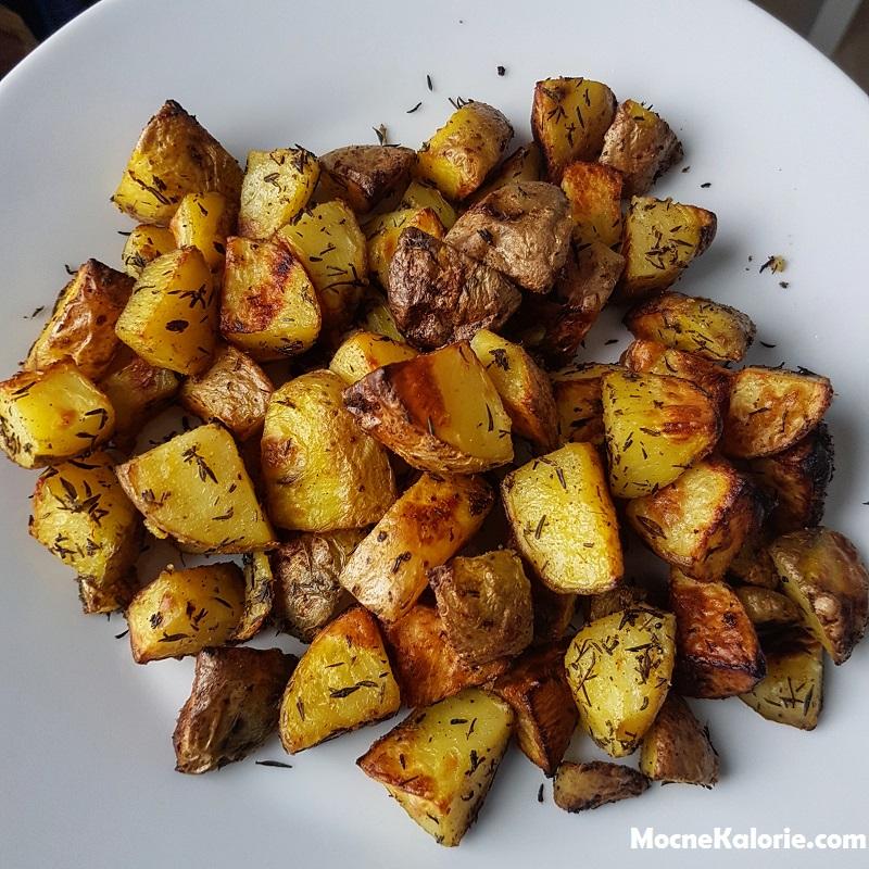 ziemniaki zapiekane FIT